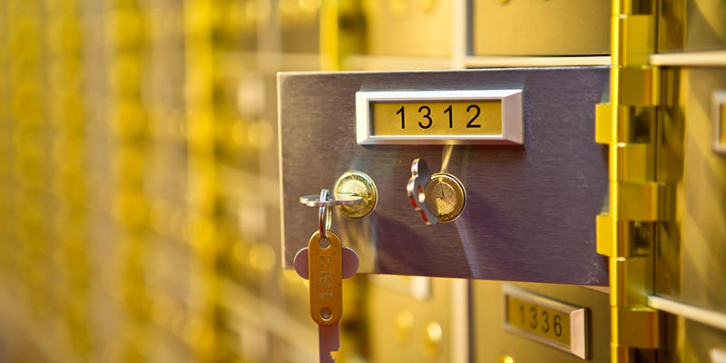 Safety Deposit Boxes Aberdeen Scotland